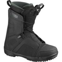 Boots Snowboard Salomon Titan Black/Black/Green 2020