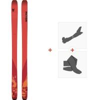 Ski Faction Chapter 1.0 2020 + Fixations de ski randonnée + PeauxFCSK20-CH10-ZZ