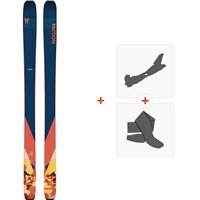 Ski Faction Chapter 2.0 2020 + Fixations de ski randonnée + PeauxFCSK20-CH20-ZZ