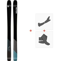 Ski Faction Prime 2.0 2020 + Tourenbindungen + FelleFCSK20-PM20-ZZ