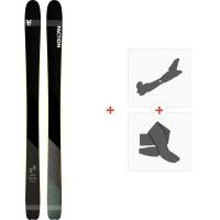 Ski Faction Prime 3.0 2020 + Fixations de ski randonnée + PeauxFCSK20-PM30-ZZ