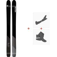 Ski Faction Prime 4.0 2020 + Fixations de ski randonnée + PeauxFCSK20-PM40-ZZ