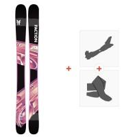 Ski Faction Prodigy 0.5 2020 + Fixations de ski randonnée + PeauxFCSK20-PR5-ZZ