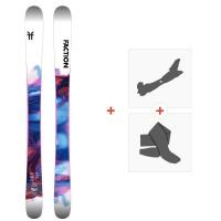 Ski Faction Prodigy 0.5 x 2020 + Tourenbindungen + FelleFCSK20-PR5X-ZZ