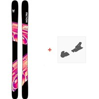 Ski Faction Prodigy 1.0 2020 + Fixations de skiFCSK20-PR1Z-ZZ