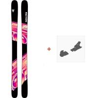 Ski Faction Prodigy 1.0 2020 + Fixations de skiFCSK20-PR1Z-ZZ