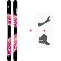 Ski Faction Prodigy 1.0 2020 + Fixations de ski randonnée + PeauxFCSK20-PR1Z-ZZ
