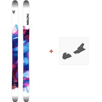 Ski Faction Prodigy 1.0 x 2020 + Ski bindingsFCSK20-PR1X-ZZ