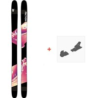 Ski Faction Prodigy 2.0 2020 + Fixations de skiFCSK20-PR2Z-ZZ