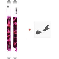 Ski Faction Prodigy 2.0 x 2020 + Fixations de skiFCSK20-PR2X-ZZ
