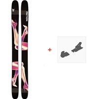 Ski Faction Prodigy 4.0 2020 + Fixations de skiFCSK20-PR4Z-ZZ