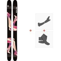 Ski Faction Prodigy 4.0 2020 + Fixations de ski randonnée + PeauxFCSK20-PR4Z-ZZ