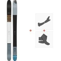Ski Amplid Megaplayer 119 2020 + Fixations de ski randonnée + Peaux