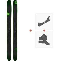 Ski Amplid Facelift 102 2020 + Fixations de ski randonnée + Peaux
