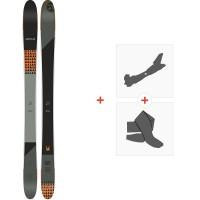 Ski Amplid Rockwell 95 2020 + Fixations de ski randonnée + Peaux