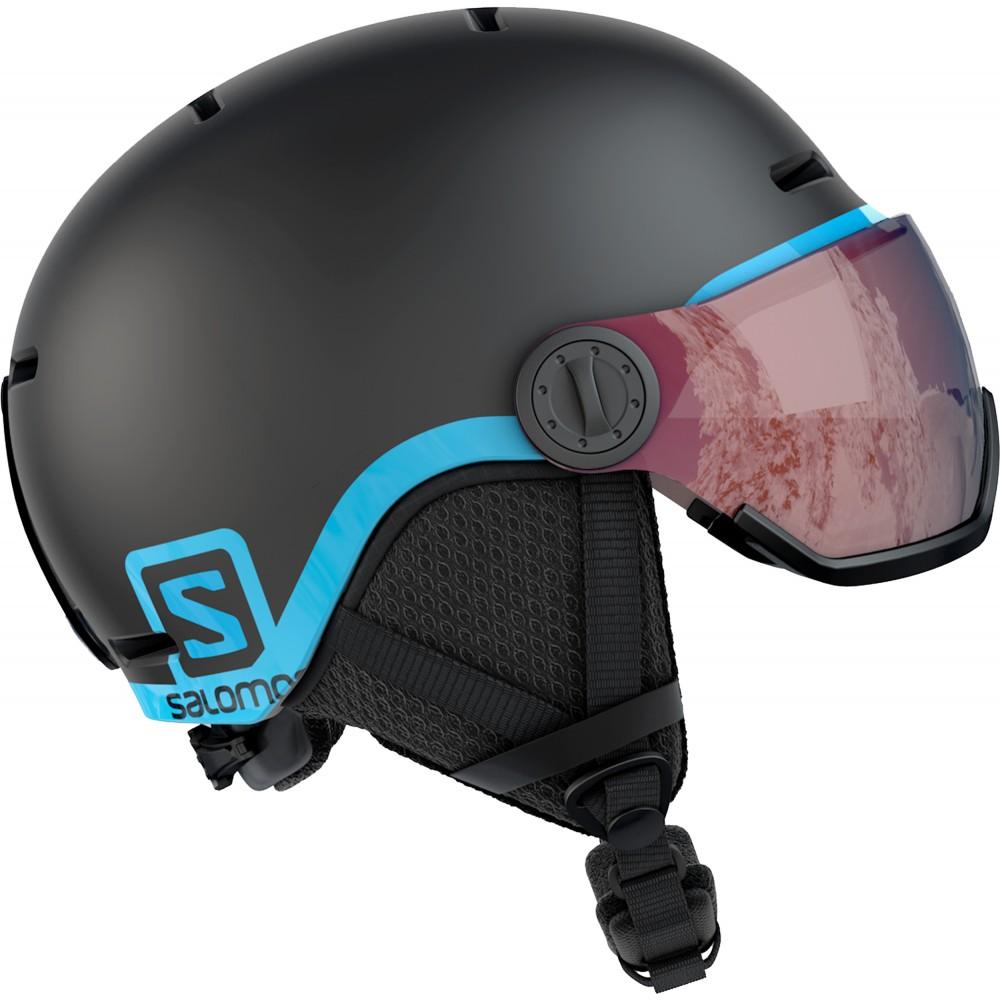 Salomon Grom Visor Black 2020 49.0 53.0 S