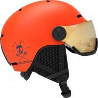 Salomon Grom Visor Flame/T.Orange 2020