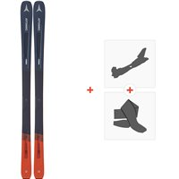 Ski Atomic Vantage 86 C 2020+ Fixations de ski randonnée + PeauxAA0027618