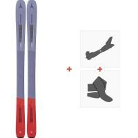 Ski Atomic Vantage WMN 97 C 2020 + Fixations de ski randonnée + Peaux