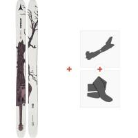 Ski Atomic Bent Chetler 120 2020 + Fixations de ski randonnée + Peaux