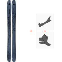 Ski Atomic Bent Chetler 100 2020 + Fixations de ski randonnée + PeauxAA0027636
