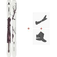 Ski Atomic Bent Chetler Mini 153-163 2020 + Fixations de ski randonnée + PeauxAA0027776