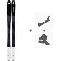 Ski Atomic Backland 85 2020 + Fixations de ski randonnée + PeauxAA0027642