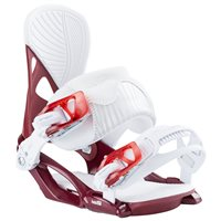 Fixation Snowboard Head NX FAY II Burgundy 2020