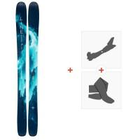 Ski Line Pandora 104 2020 + Fixations de ski randonnée + Peaux19D0017.101