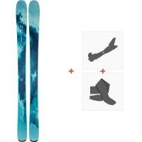 Ski Line Pandora 94 2020 + Fixations de ski randonnée + Peaux