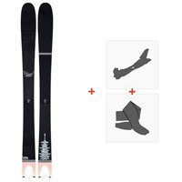 Ski Line Pescado 2020 + Fixations de ski randonnée + Peaux19D0000.101.1.180