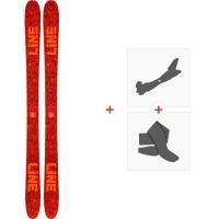Ski Line Ruckus 2020 + Tourenbindungen + Felle19D0023.101.1
