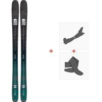 Ski Line Sick Day 104 2020 + Fixations de ski randonnée + Peaux19D0010.101.1