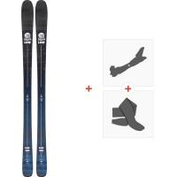 Ski Line Sick Day 88 2020 + Fixations de ski randonnée + Peaux19D0013.101.1
