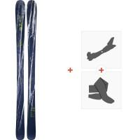 Ski Line Supernatural 92 2020 + Fixations de ski randonnée + Peaux19D0015.101.1