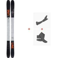 Ski Line Tom Wallisch Pro 2020 + Fixations de ski randonnée + Peaux19D0008.101.1