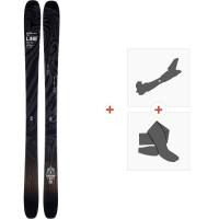 Ski Line Vision 108 2020 + Fixations de ski randonnée + Peaux19D0004.101.1