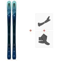Salomon N Mtn Explore 88 W 2020 + Fixations de ski randonnée + PeauxL40528800