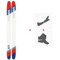 Ski K2 Catamaran 2020 + Fixations de ski randonnée + Peaux10D0300.101.1