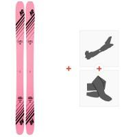 Ski K2 Empress 2020 + Fixations de ski randonnée + Peaux10D0701.101.1