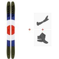 Ski K2 Marksman 2020 + Fixations de ski randonnée + Peaux10D0301.101.1