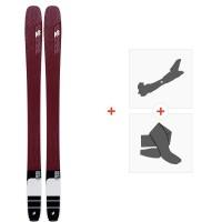 Ski K2 Mindbender 106 Alliance 2020 + Fixations de ski randonnée + Peaux10D0501.101.1