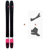 Ski K2 Mindbender 115 Alliance 2020 + Fixations de ski randonnée + Peaux10D0500.101.1