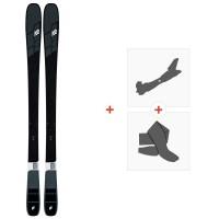 Ski K2 Mindbender 85 2020 + Fixations de ski randonnée + Peaux10D0105.101.1