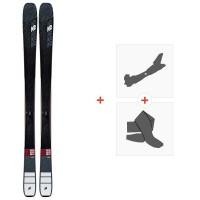 Ski K2 Mindbender 88 TI Alliance 2020 + Fixations de ski randonnée + Peaux10D0503.101.1