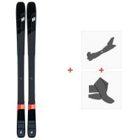 Ski K2 Mindbender 90 TI 2020 + Fixations de ski randonnée + Peaux10D0103.101.1