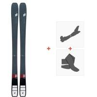 Ski K2 Mindbender 98 TI Alliance 2020 + Fixations de ski randonnée + Peaux10D0502.101