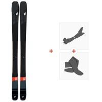 Ski K2 Mindbender 99 TI 2020 + Fixations de ski randonnée + Peaux10D0102.101.1