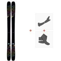 Ski K2 Missconduct 2020 + Fixations de ski randonnée + Peaux