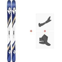 Ski K2 Talkback 84 2020 + Fixations randonnée + Peau10C0602.101.1